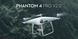 DJIの代表ドローンPhantom(ファントム)シリーズの違いを比較!一番新しいV2.0のレビュー