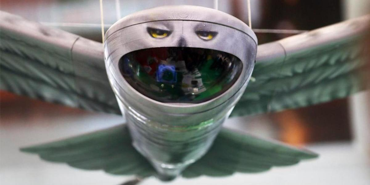 軍事関係者に向けて、ロシアからフクロウ型の偵察用ドローンが発表される