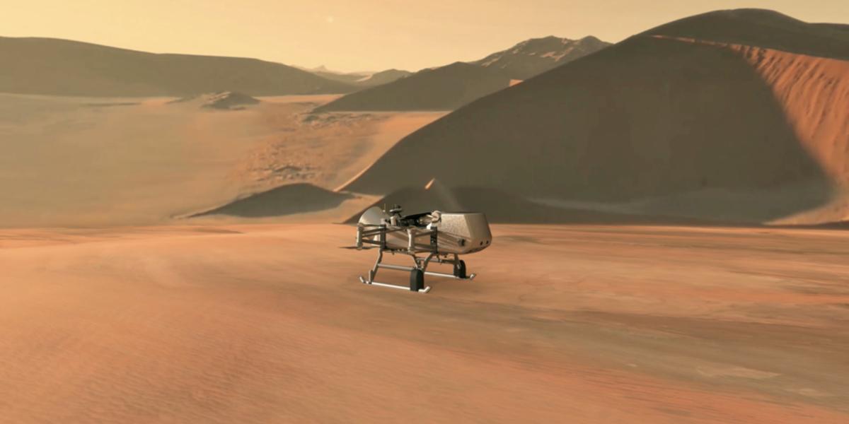 2026年、NASAが土星の衛星『タイタン』にドローン探査機を打ち上げ!生命の起源を探る