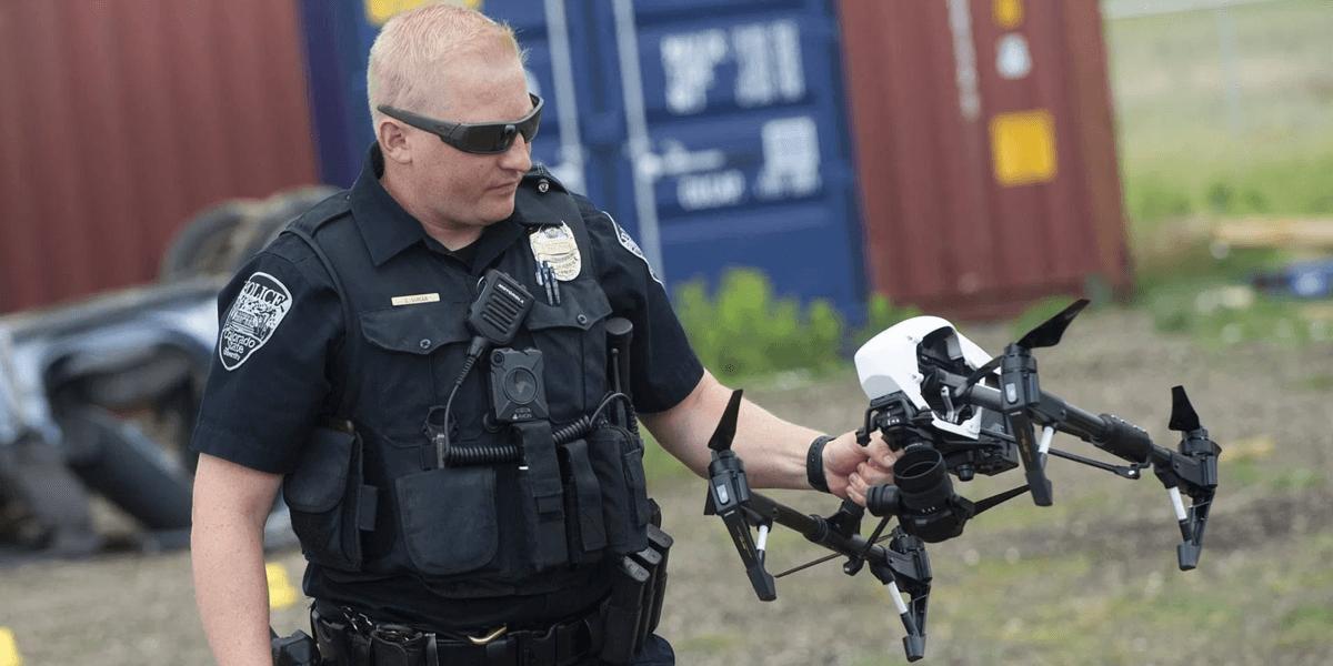 アメリカのワシントンでは警察のドローン利用が拡大中!犯罪現場のマッピングなどで活躍
