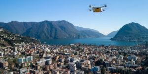 Swiss Postがドローン配送サービスをストップ!半年で2回の墜落