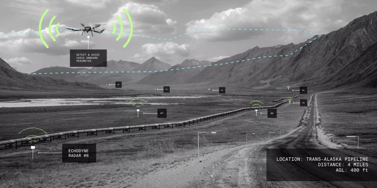 アラスカのパイプラインの検査にドローンを利用!アメリカ連邦航空局も認める