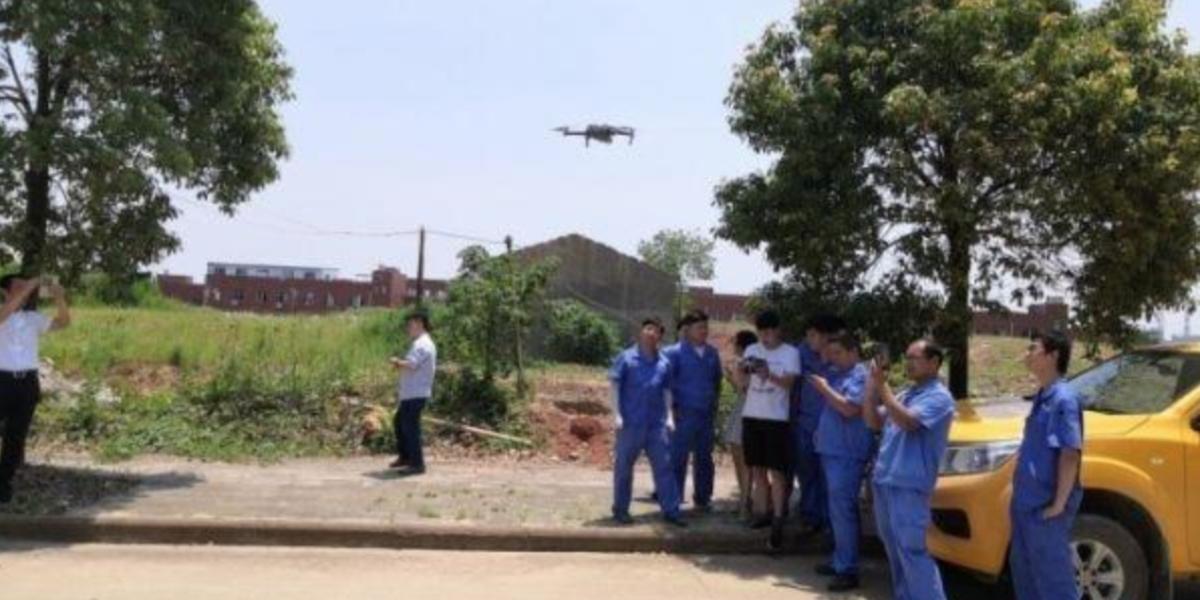 中国の武漢市ではパイプラインの検査にドローンを導入!スマートシティ化を推進