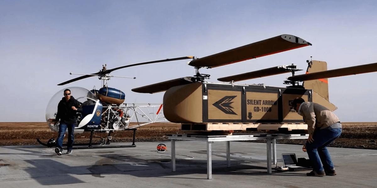 720kgの物資を輸送できる折り畳みドローンがリリース!兵士の物資補給で活躍!?