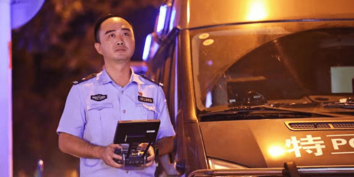 「ドローンを操縦できる警察官を増やしたい!」中国 廈門市 初のドローン警察官の言葉