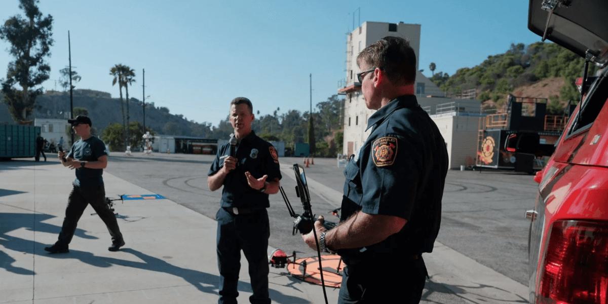 ロサンゼルス消防署がドローンの大幅な増加を予定!温度センサーが最も重要!?