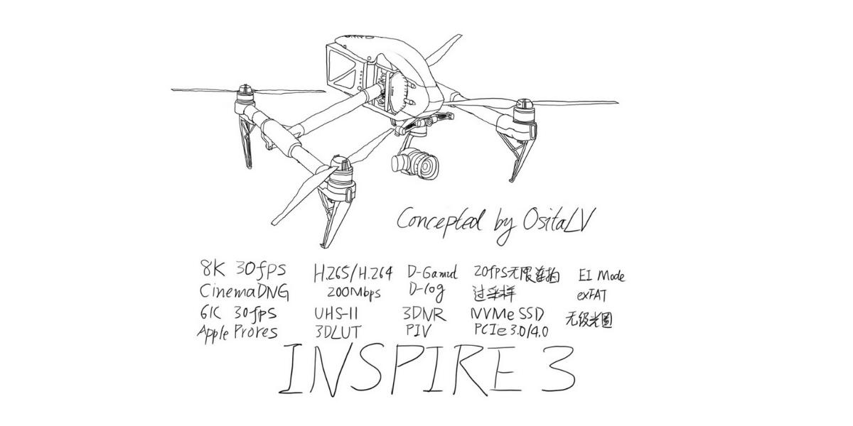 DJIの新ドローン「Inspire 3」に関するリーク情報まとめ!発売日はいつ?