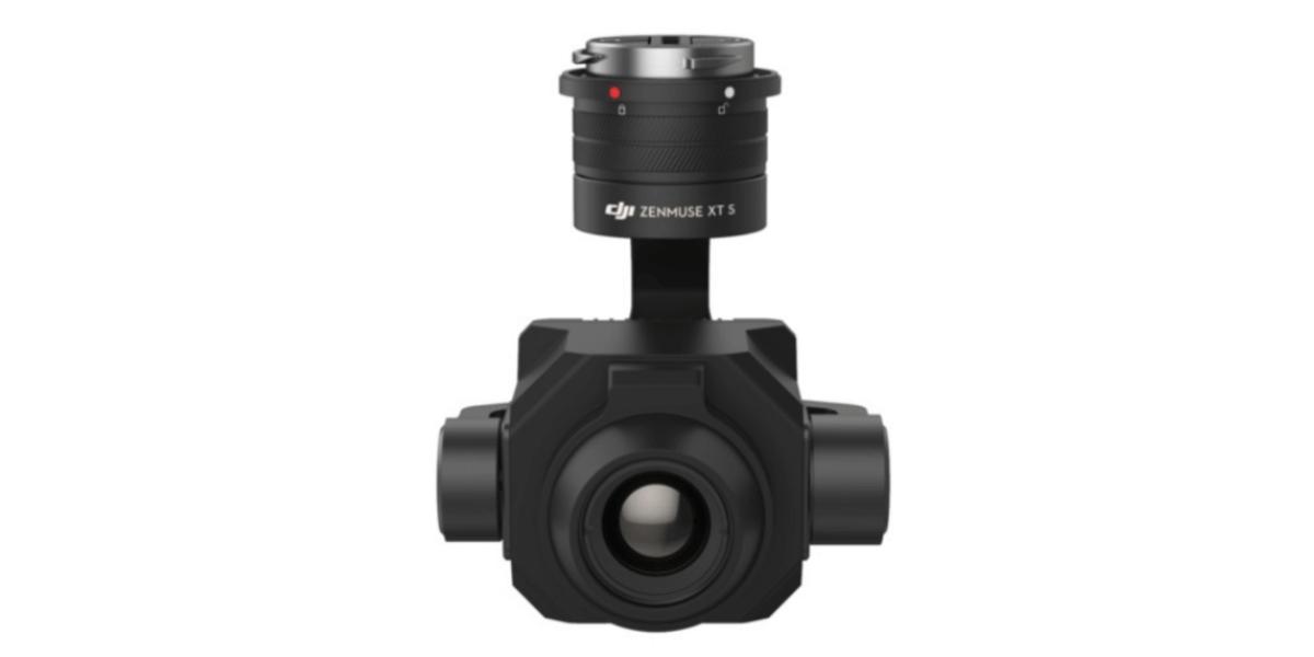 DJIの新商品!赤外線カメラ搭載の高性能ジンバルカメラ『Zenmuse XT S』を発表!