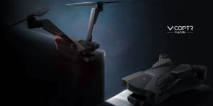 50分間フライトできるドローンのプロペラは2枚!Zero Zero Roboticsの『V-Coptr Falcon』が予約開始