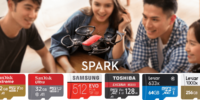 SparkのmicroSDカードのオススメと選び方を解説!容量よりも大事なのは書き込み速度!?