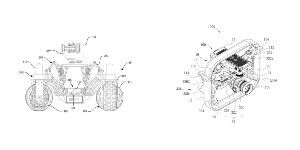 DJIが新たな特許を取得!カメラを搭載したレーシングカーと小型ジンバルの製品化も近い?