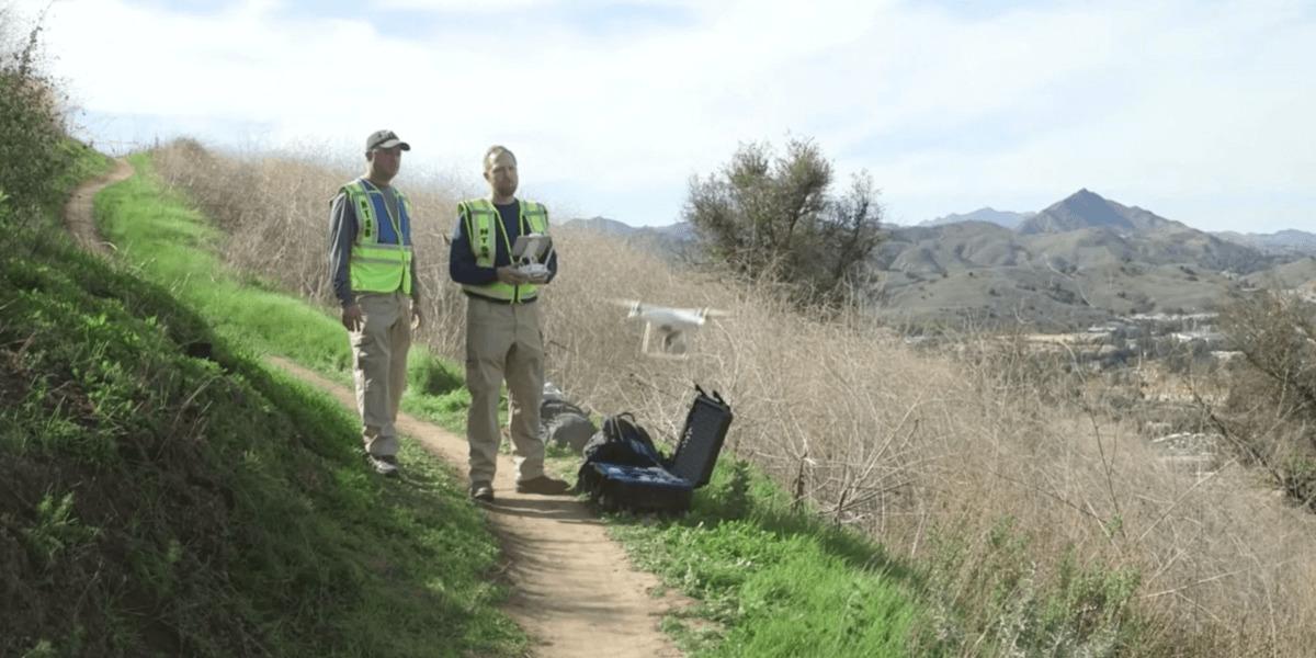 ドローンで撮影されたコービー・ブライアント墜落死の事故現場が公開