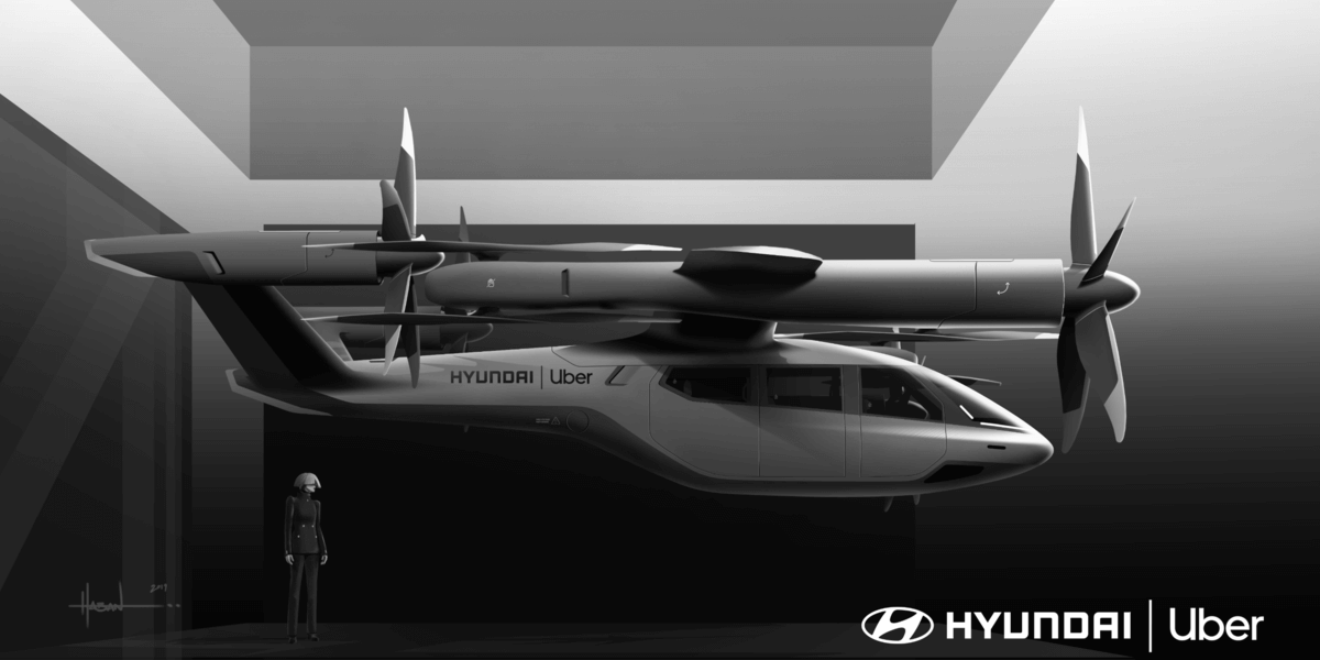 Uber Airがヒュンダイと提携!空飛ぶタクシーを生産中