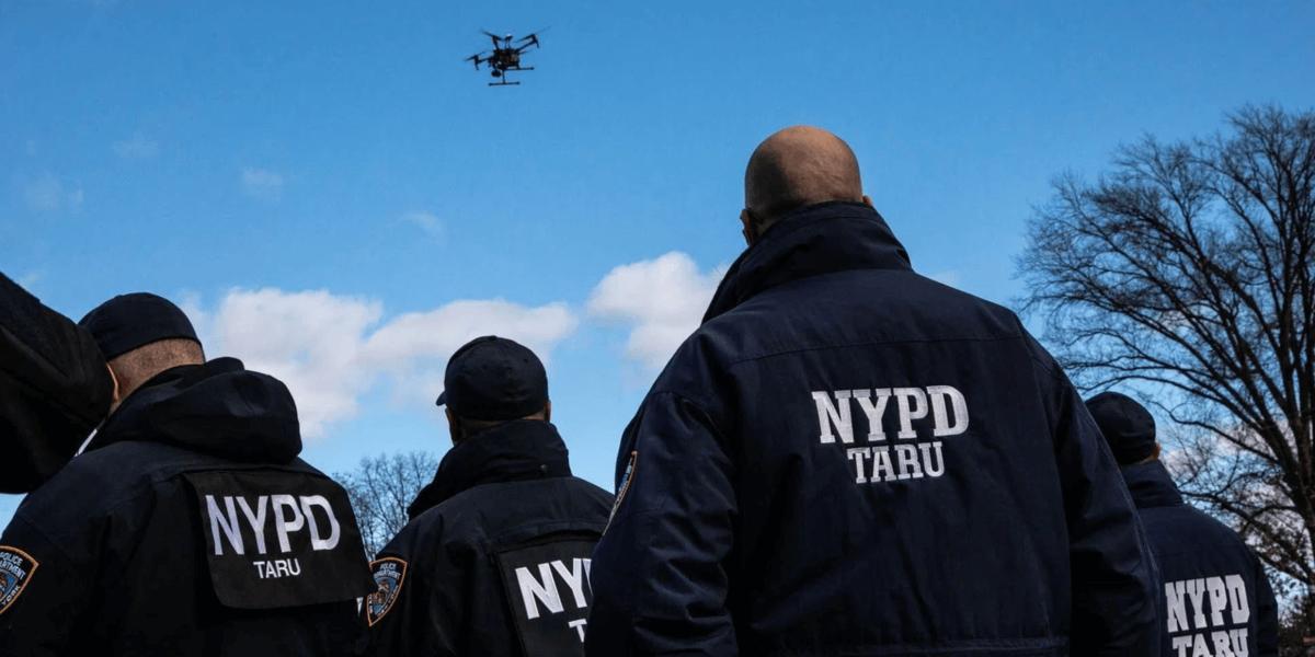 ニューヨーク警察はタイムズスクウェアでのニューイヤーイベントをドローンで監視
