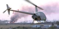 UAVOSが有人ヘリコプター『Robinson R22』を改造!1000km飛べる貨物ドローンへ