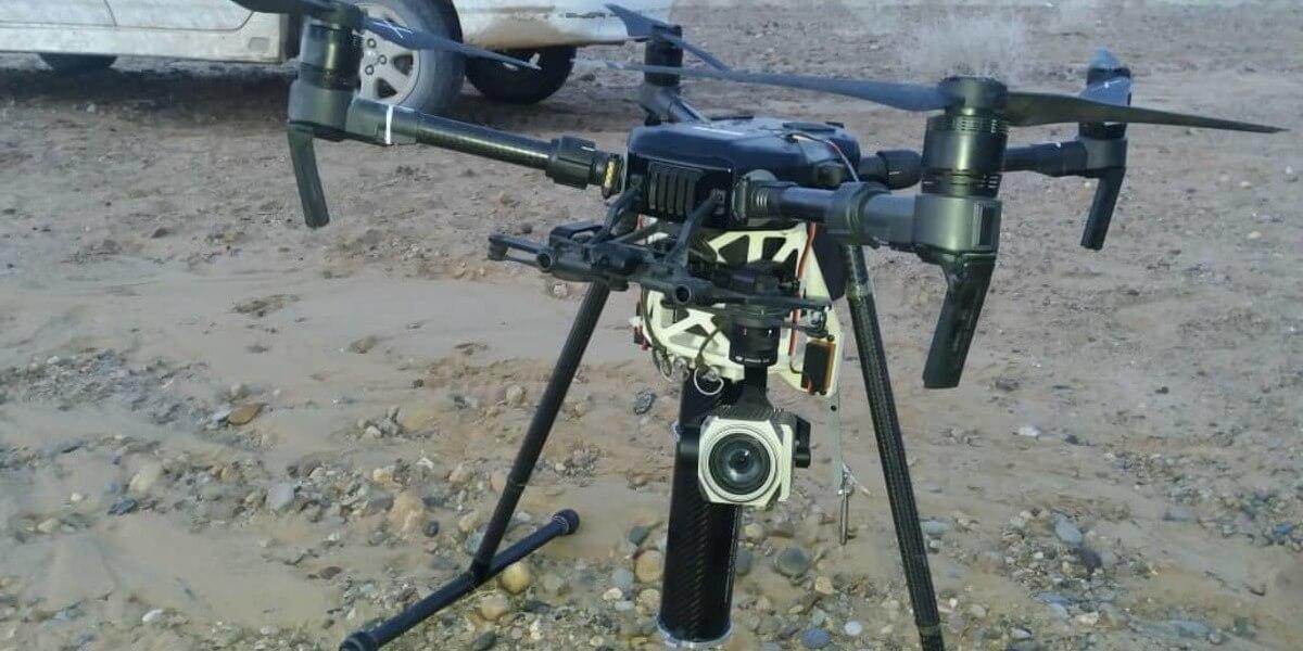 アフガニスタンにて、武器を搭載したDJI『Matirice210』が使用される