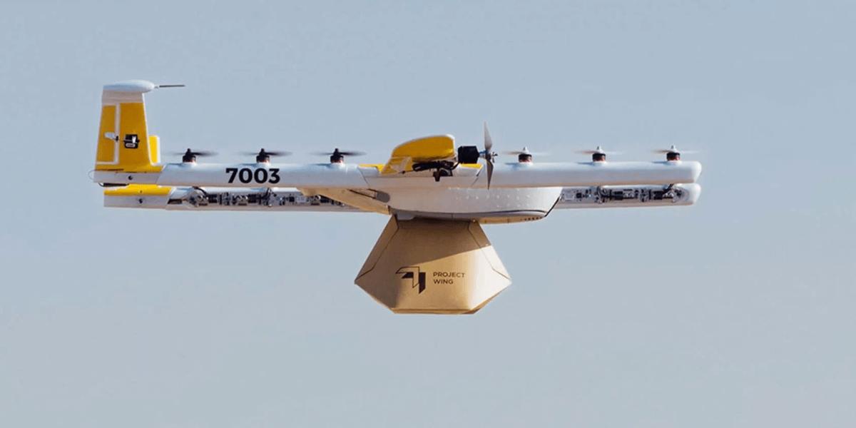 Googleのドローン会社『Wing Aviation』はイギリスでの配送テストを予定