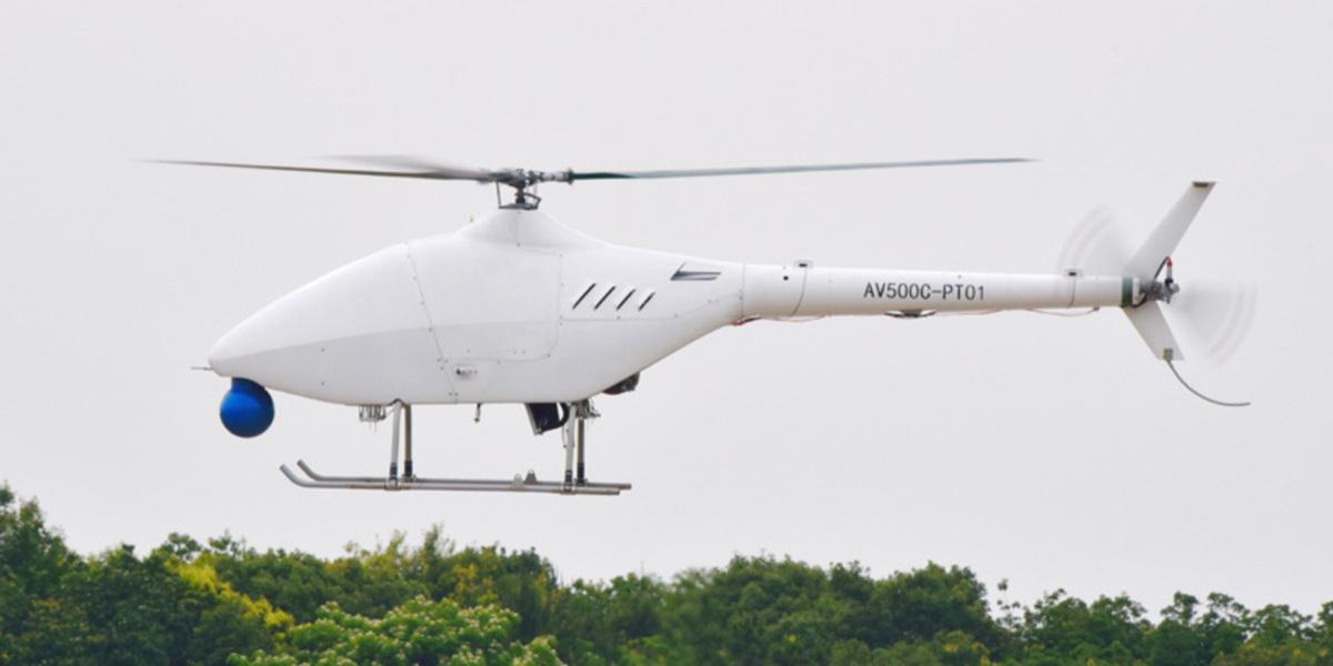 初の無人ヘリコプターである『AR500C』のフライトが成功 – 中国 景徳鎮市