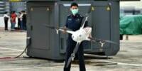 自律飛行型ドローンが閉鎖中の施設への不法侵入を監視 – シンガポール