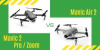 【徹底比較】「Mavic Air 2」VS「Mavic 2 Pro/Zoom」どのドローンがおすすめ?