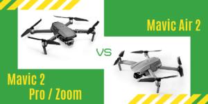 【徹底比較】「Mavic Air 2」VS「Mavic 2 Pro/Zoom」どれがおすすめ?