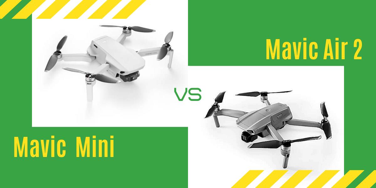 【徹底比較】「Mavic Air 2」VS「Mavic Mini」初心者にオススメなのは?