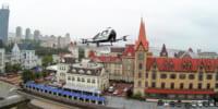 空飛ぶ車で中国観光 パッセンジャードローン「EHang 216」の観光飛行成功