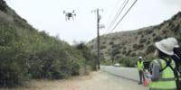 カリフォルニア州南部にて、140万本の電柱をドローン点検に切り替え – SCE
