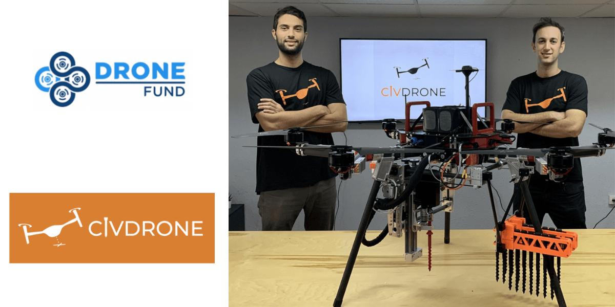 ドローンによる杭打ち技術開発会社に出資 – DRONE FUND(日本)