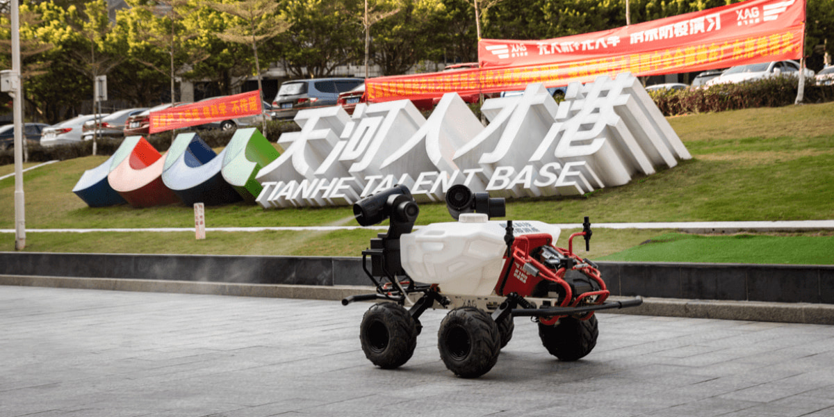 ドローンメーカーXAGが農業用自動走行ロボット「Jifei R150」を発表