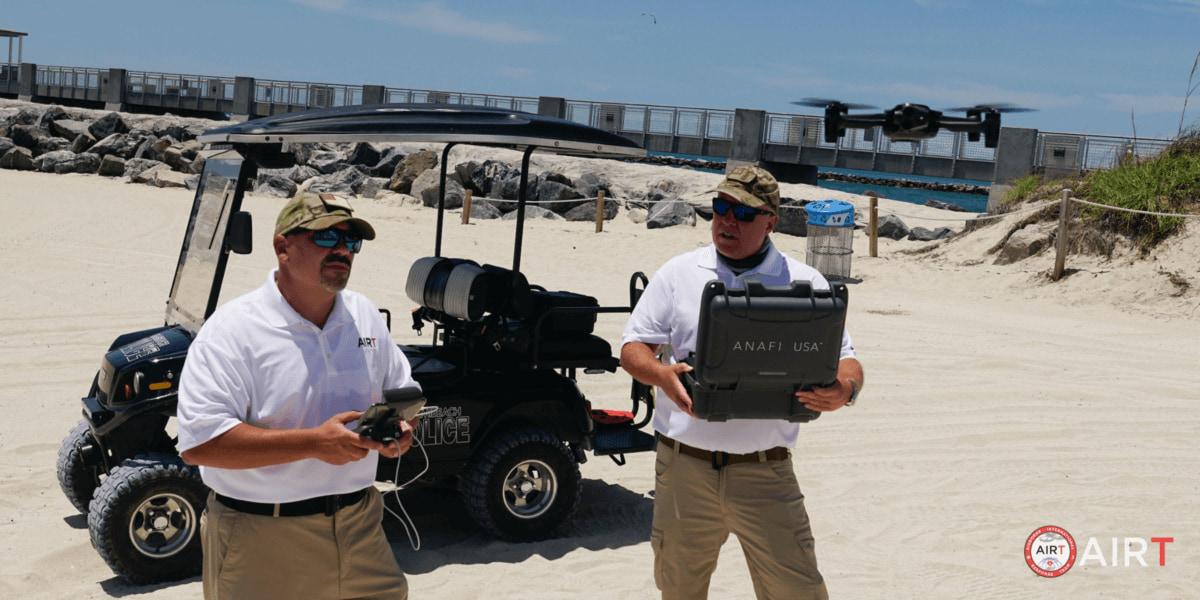 ParrotがAIRTと提携 災害時の救助活動に「ANAFI USA」導入に前進