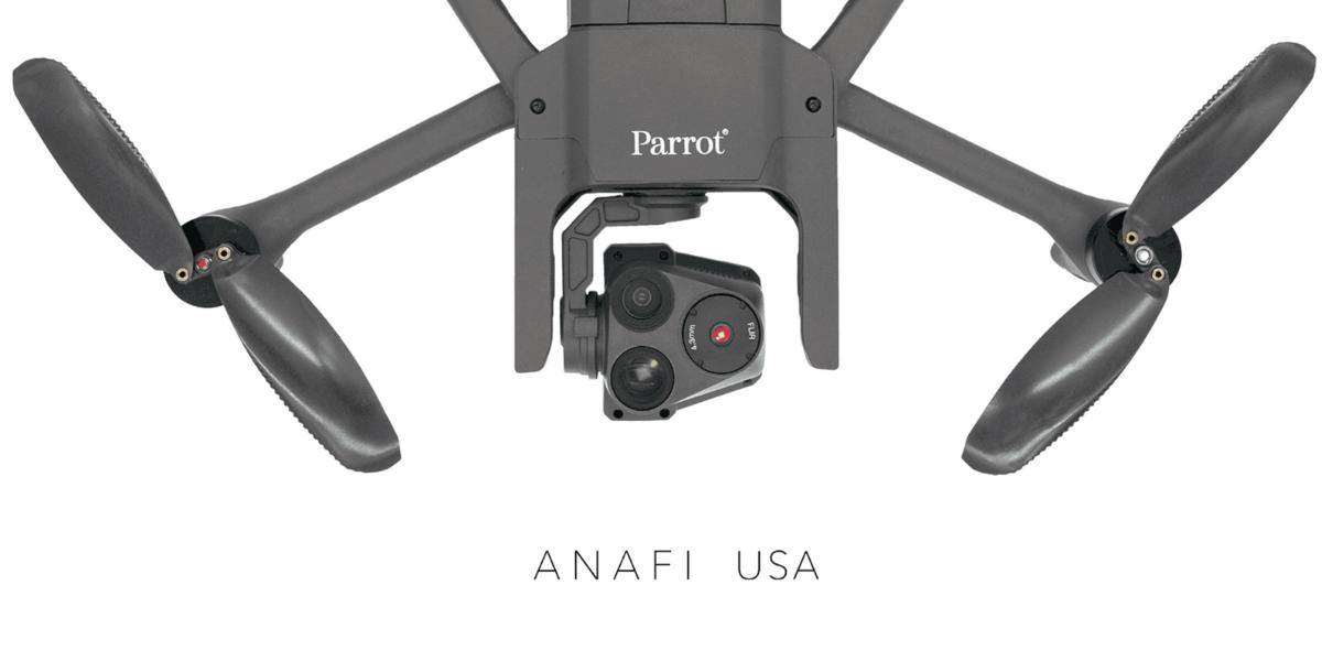 Parrotが新ドローン「ANAFI USA」発売!32倍ズームカメラ搭載