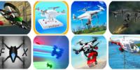 スマホで遊べるドローンのゲームアプリ(操縦シミュレーション/レース)
