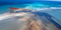 商船三井によるモーリシャス島沖での貨物船座礁 ドローン映像公開