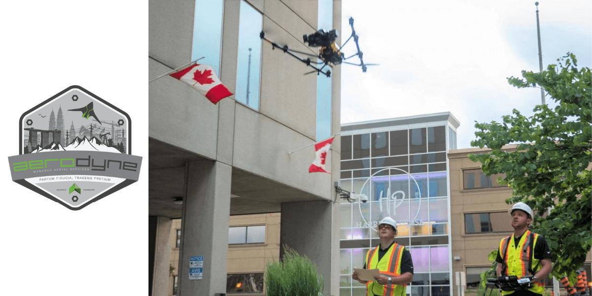 Aerodyne Group、The Sky Guysと提携してAIドローン検査をカナダへ拡大