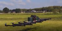 積載量50ℓ 6mに農薬散布するドローン誕生 – Drone4agro、Loweheiser