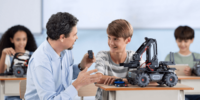 【DJIの新商品】新しい教育ロボット「RoboMaster EP Core」を発売