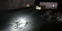 世界初!DJI「Matrice 300 RTK」が自律飛行で地下鉱山を調査