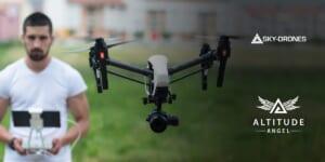 Altitude AngelとSKY-DRONESがシステムを統合!アプリサービスを強化