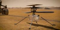 火星でNASAの無人ヘリコプターが起動 宇宙環境でのバッテリー充電は初