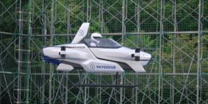 空飛ぶ車「SD-03」有人での公開飛行試験成功 – SkyDrive