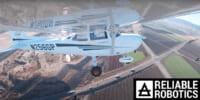 Reliable Robotics、セスナ機「C172 UAS」の完全自動飛行成功