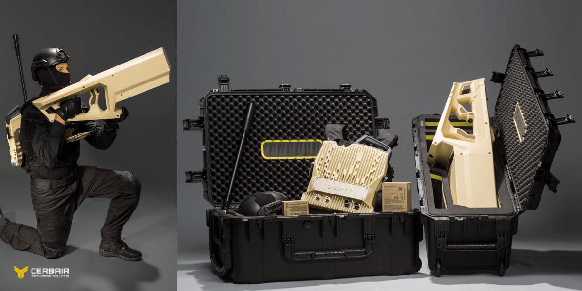 フランスのCerbair、アンチドローンのパッケージ「Chimera(キメラ)」発表