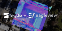 Skydio、EagleViewとの提携を発表!5,000台のドローンを屋根点検に使用