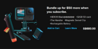 GoPro Hero9の情報がリーク!フロントカラーディスプレイ採用?価格は?