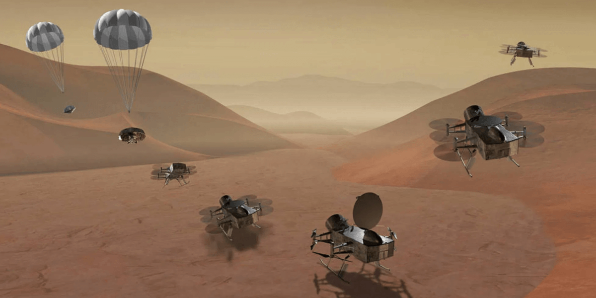 NASA、土星の衛星タイタンにドローン探査機を打ち上げる予定を1年延期