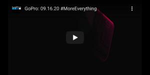 GoPro 新製品「Hero 9 Black」、本日23:00にYouTubeで発表&発売開始!?