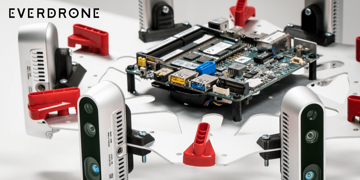 Everdrone、ドローンの障害物回避における特許を取得