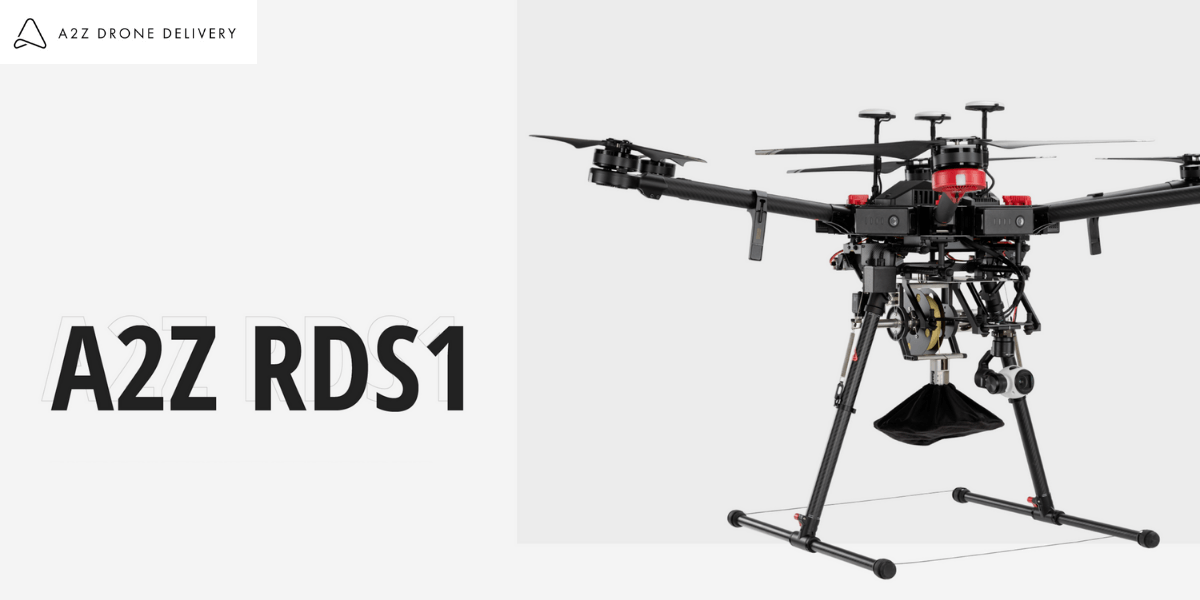 A2Z Drone Delivery、安全性に意識した配達ドローン「RDS1」の販売開始