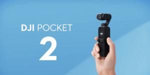 DJIの新製品!ハンドカメラ「DJI Pocket 2(Osmo Pocket 2)」販売開始
